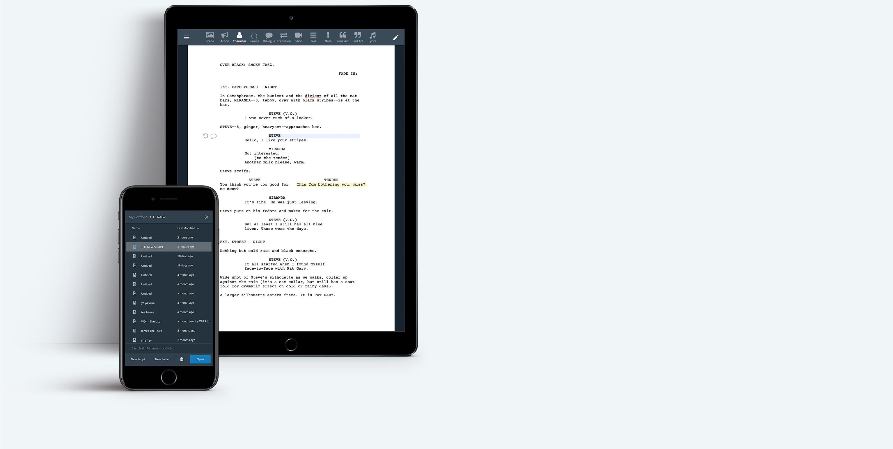 WriterDuet | Professional Screenwriting Software You'll Love
